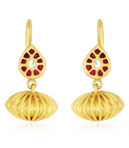 Teardrop Dholki Earrings