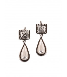 TEARDROP SQUARE EARRINGS