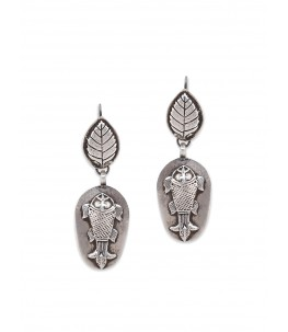 FISH LEAF EARRINGS