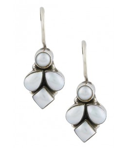 TANPURA MOTHER OF PEARL DANGLER