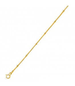 VIBHUSHAN GOLD PLATED CHAIN